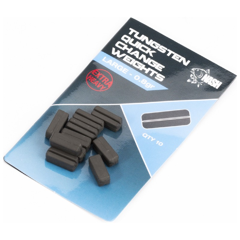 Tungsten Quick Change Weights Pack of 10 image 3