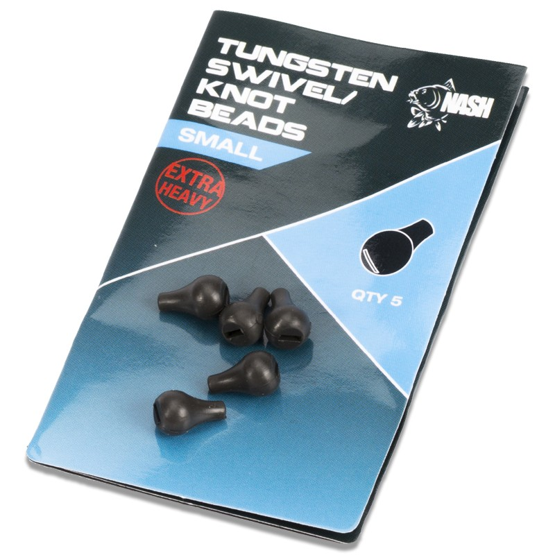 Tungsten Swivel Beads Pack of 5