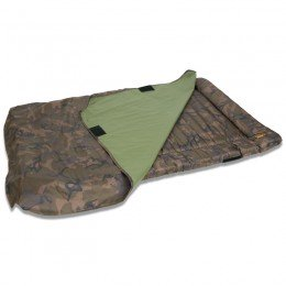 Camo Unhooking Mat with velcro retaining flap and 50mm deep foam