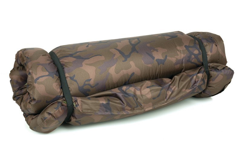 Camo Unhooking Mat with velcro retaining flap and 50mm deep foam image 1
