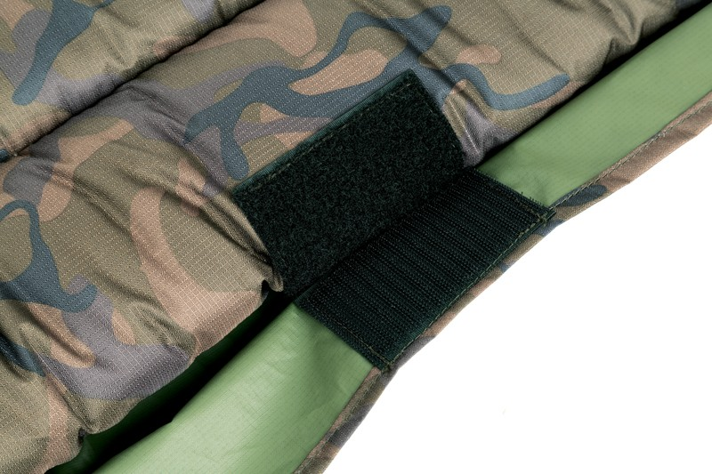Camo Unhooking Mat with velcro retaining flap and 50mm deep foam image 3