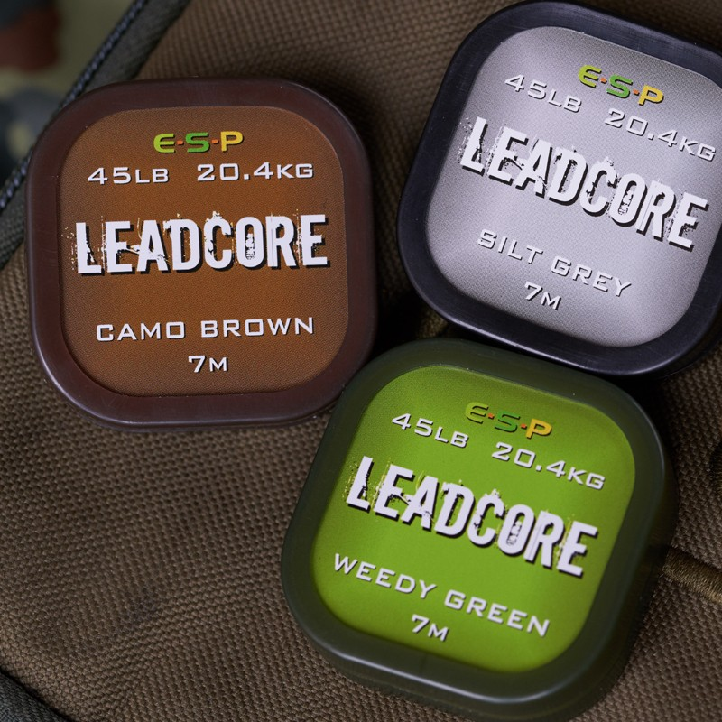 Leadcore 7m (silt grey) for heavy weed and snags image 2