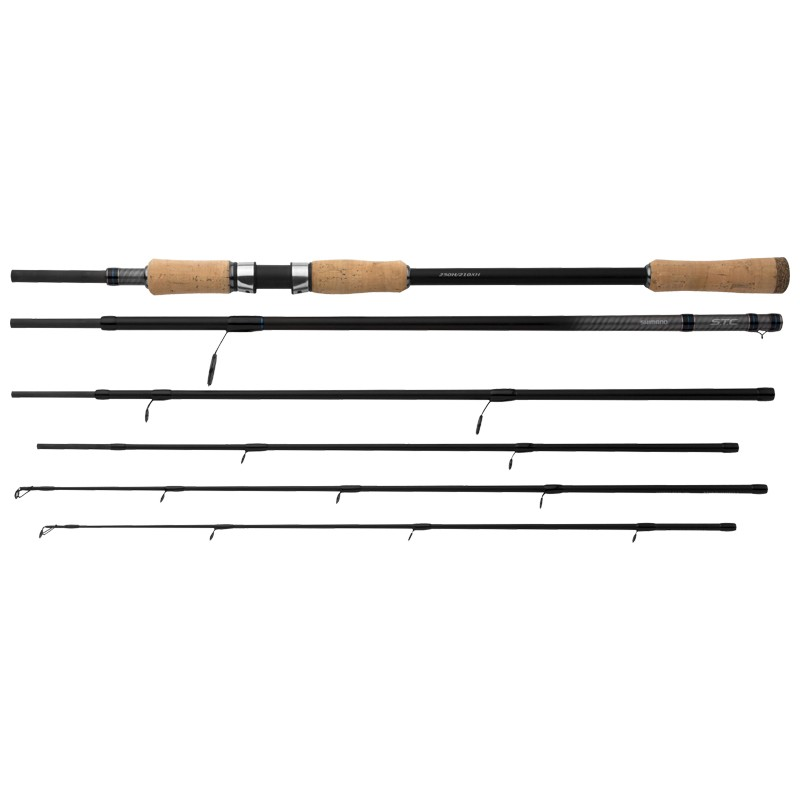 Travel Concept S.T.C Dual Tip Spin Travel Lure Rods