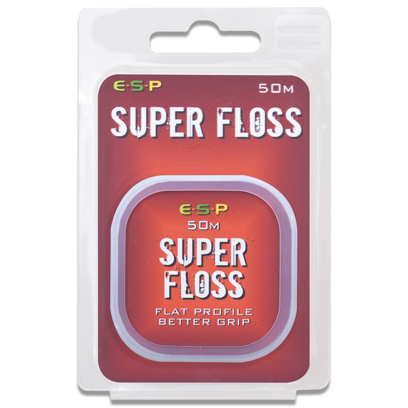 Super Floss (50m) that grips pop-ups securely without cutting in