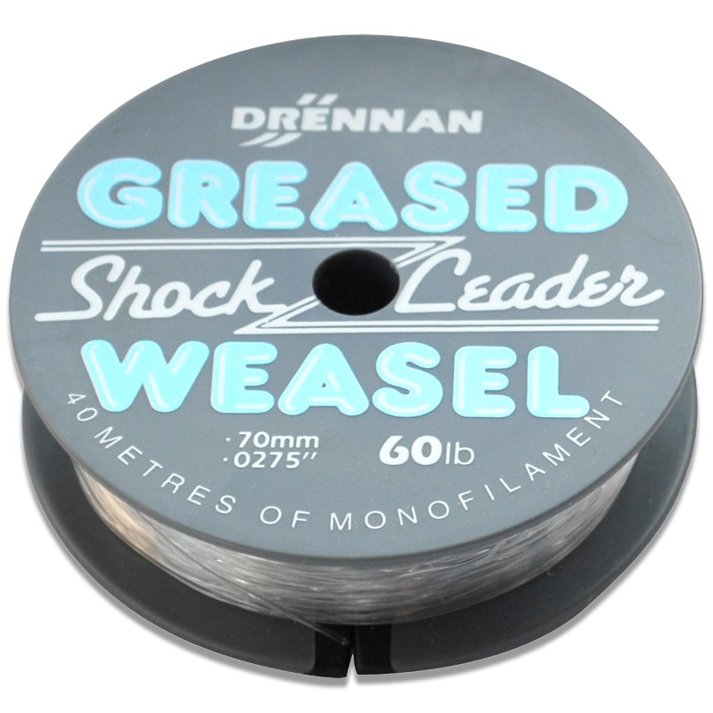 Greased Weasel Shock Leader 40m