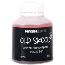 Old Skool Amber Strawberry Boilie Dip