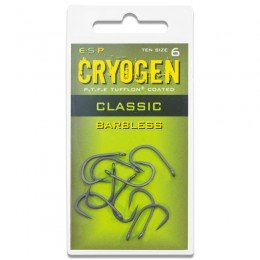 Cryogen Classic Barbless Carp Hooks Pack of 10