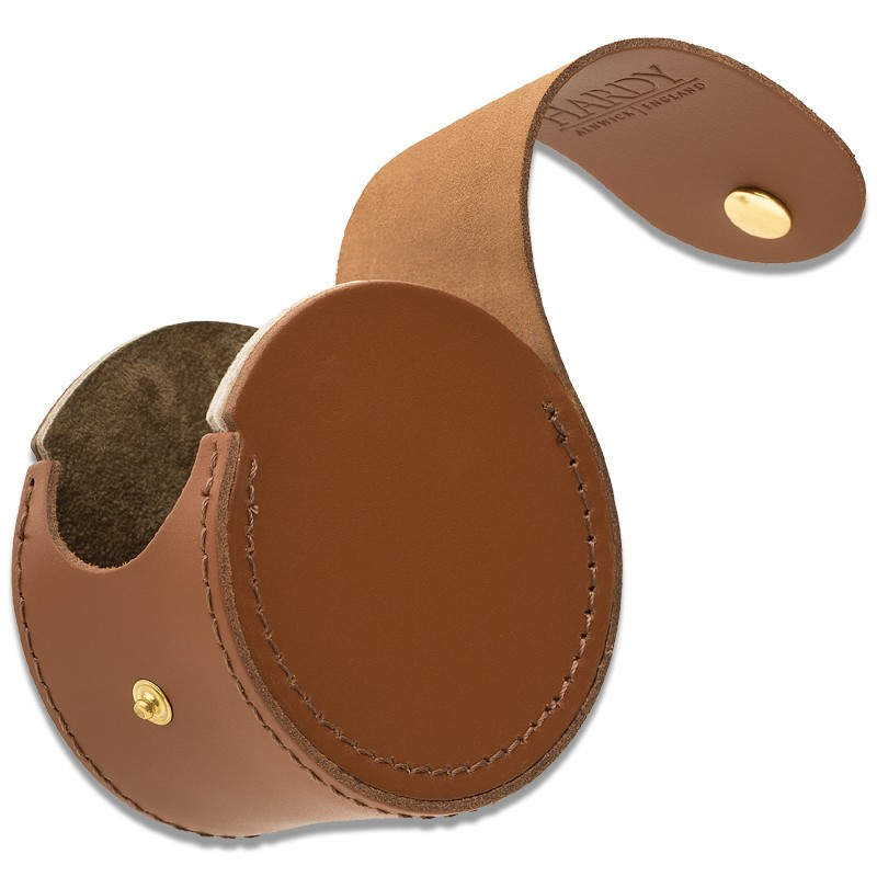 HBX Leather Reel Cases Wide MADE IN THE UK