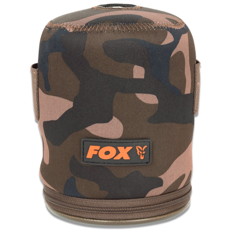 Camo Neoprene Gas Canister Cover