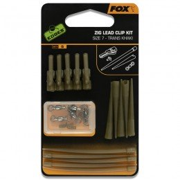Edges Zig Lead Clip Kit Size 7 Pack of 5