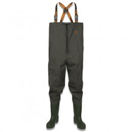 Lightweight Nylon Chest Waders Green