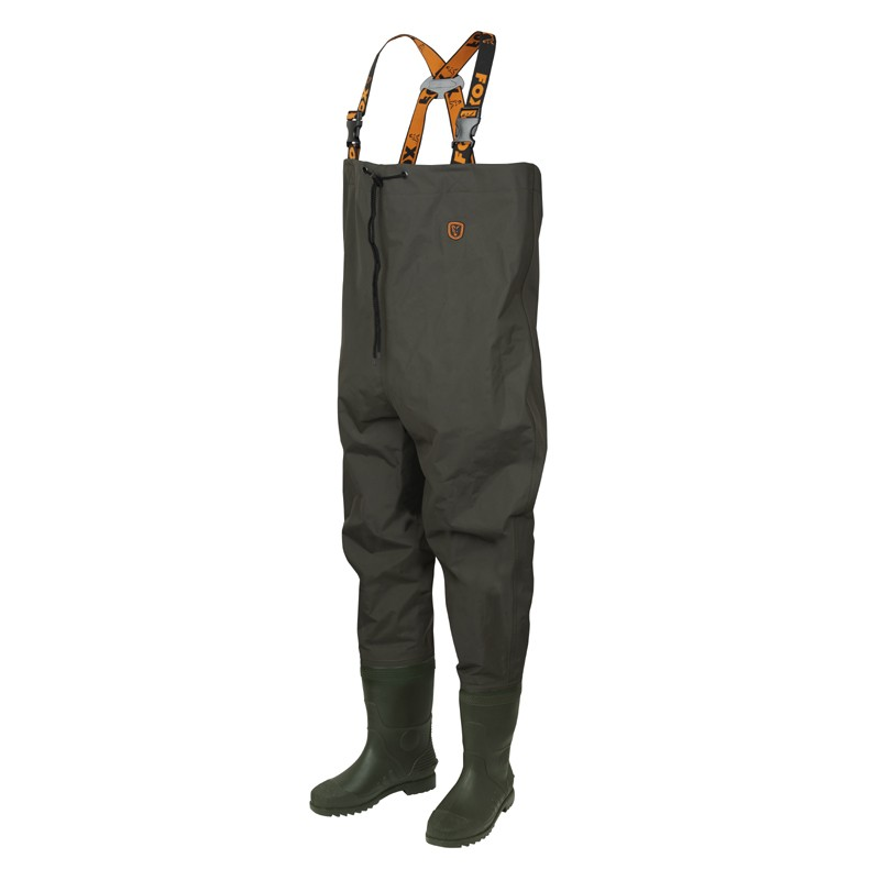 Lightweight Nylon Chest Waders Green image 2