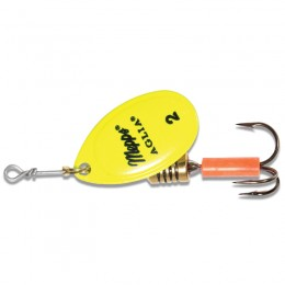 Aglia Fluoro Yellow Spinners