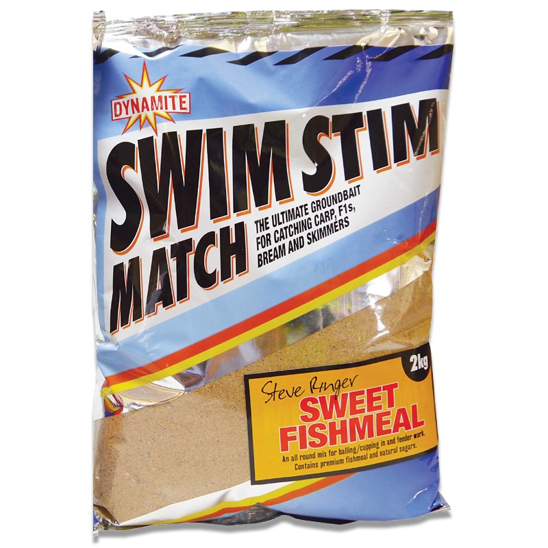Swim Stim Steve Ringer Sweet Fishmeal Groundbait