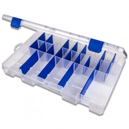 Tuff Tainer 5003 tackle box - 3 partitions & 12 Zerust dividers