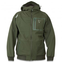 Green & Silver Soft Shell Hoody