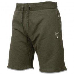 Green & Silver Lightweight Jogger Shorts