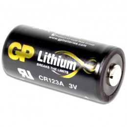 GP CR123A 3v Battery