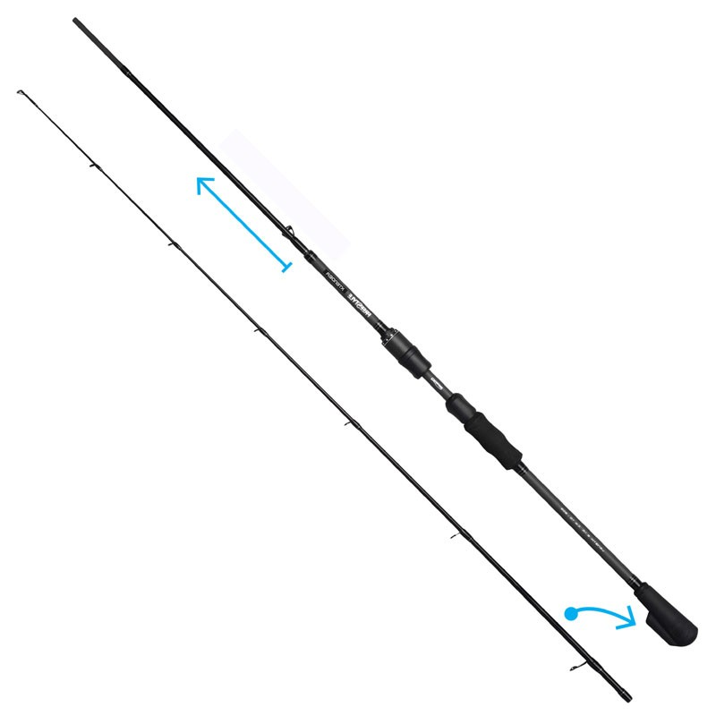 Freestyle Xtender Jig Lure Rods