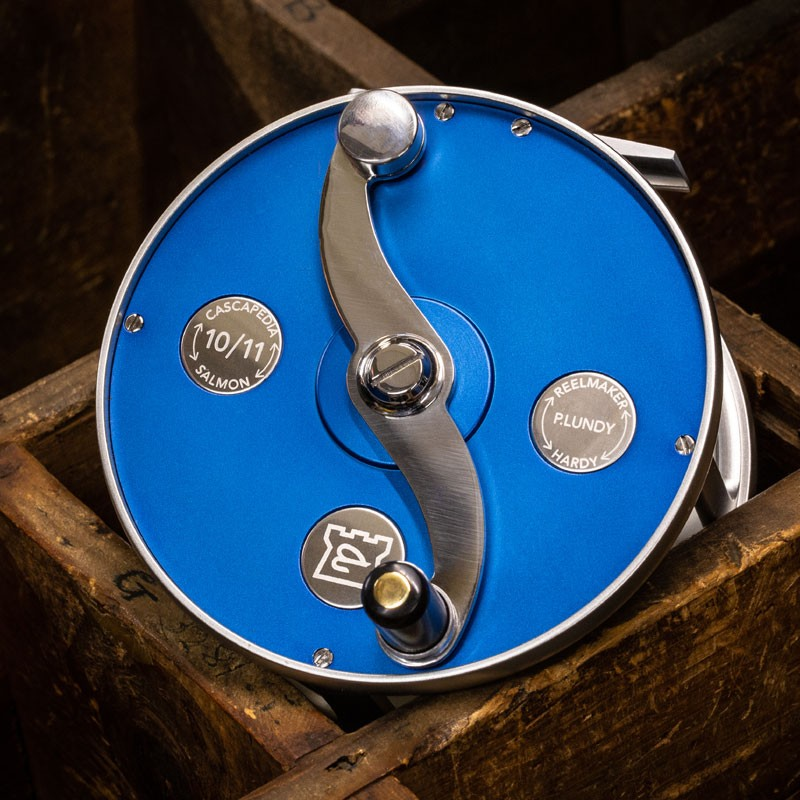 Cascapedia Fly Reel 4 inch Blue MADE IN ENGLAND - LIMITED EDITION image 3