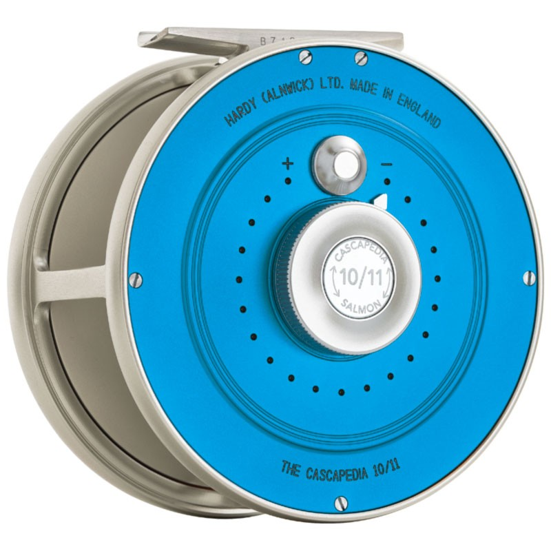 Cascapedia Fly Reel 4 inch Blue MADE IN ENGLAND - LIMITED EDITION image 2