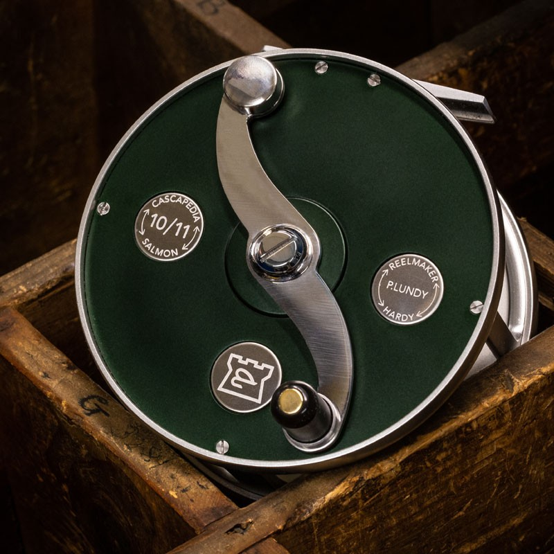 Cascapedia Fly Reel 4 inch British Racing Green MADE IN ENGLAND - LIMITED EDITION