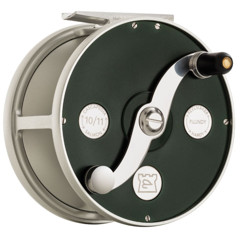 Cascapedia Fly Reel 4 inch British Racing Green MADE IN ENGLAND - LIMITED EDITION image 2