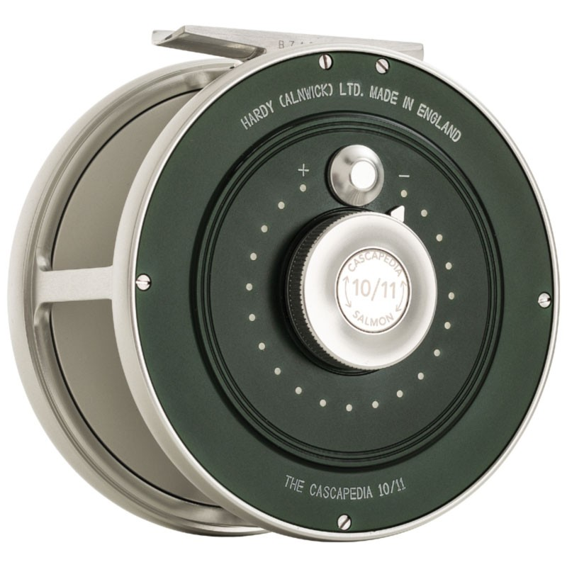 Cascapedia Fly Reel 4 inch British Racing Green MADE IN ENGLAND - LIMITED EDITION image 3