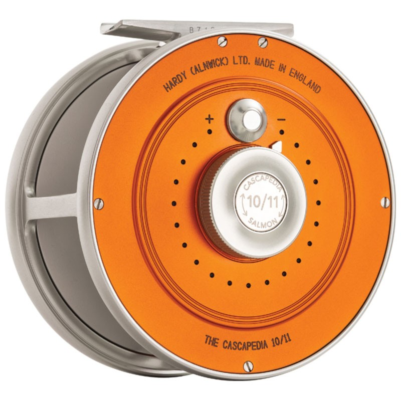 Cascapedia Fly Reel 4 inch Orange MADE IN ENGLAND - LIMITED EDITION image 2