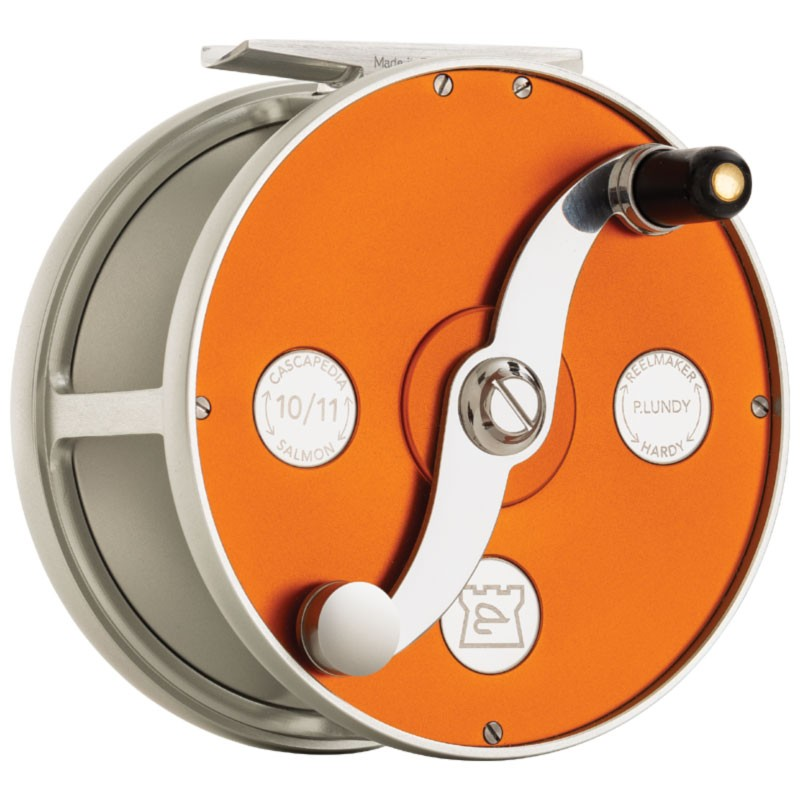 Cascapedia Fly Reel 4 inch Orange MADE IN ENGLAND - LIMITED EDITION image 3