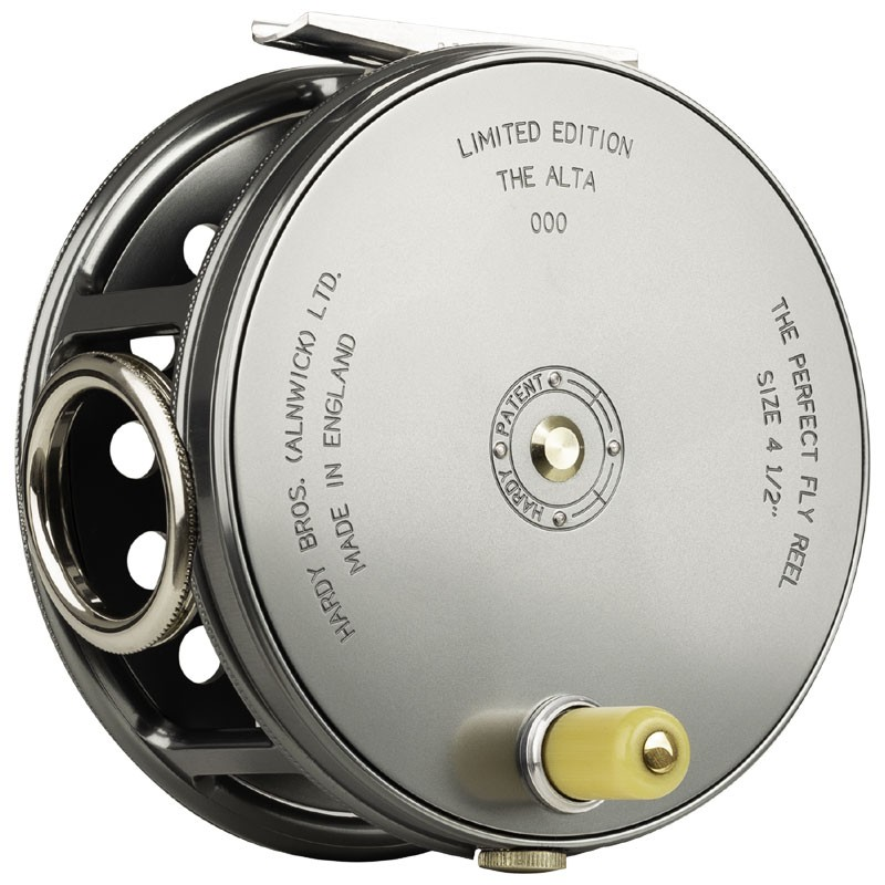 Salmon Rivers Perfect Fly Reel The Gaula 4½ inch MADE IN ENGLAND - LIMITED EDITION image 2