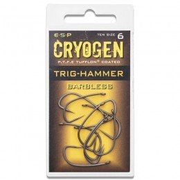 Cryogen Trig Hammer Hooks Barbless Pack of 10