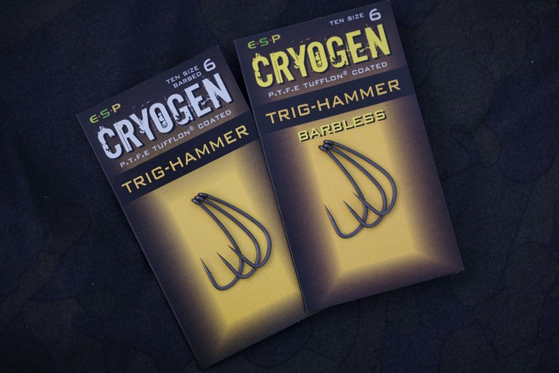 Cryogen Trig Hammer Hooks Barbless Pack of 10 image 2