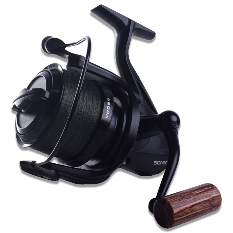 VaderX 8000 RS Spod Reel With Braid image 1