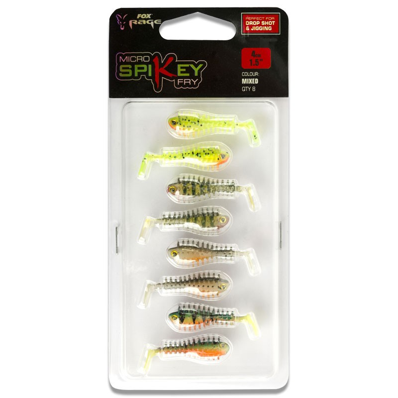 Micro Spikey Fry Mixed Colour Pack