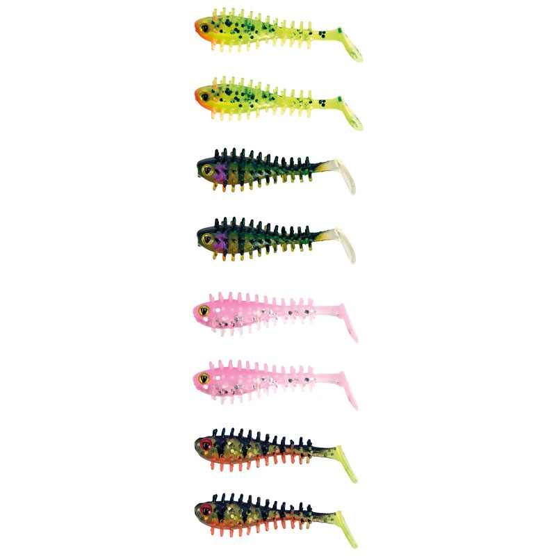 Micro Spikey Fry UV Mixed Colour Pack  image 2