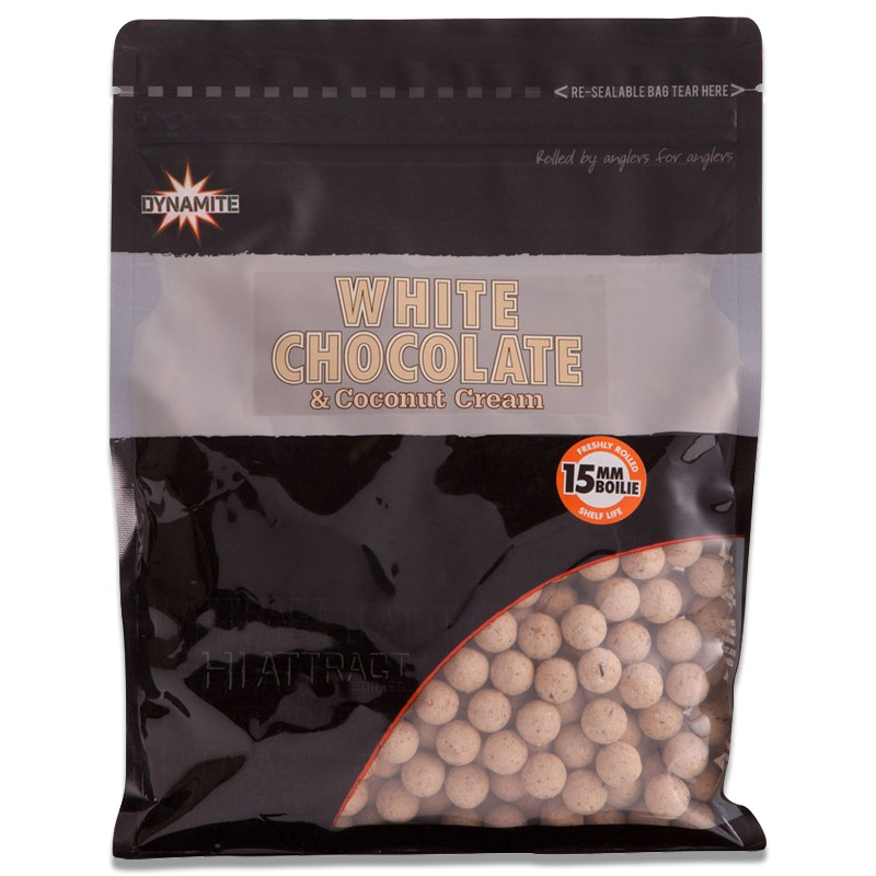 White Chocolate & Coconut Cream Boilies 1kg image 1