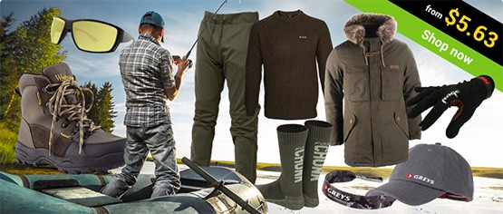 Clothing fishing gear