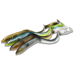 New 3D Real Eel Loose Body 15cm