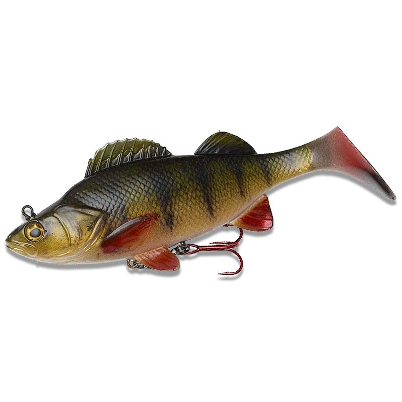 EFFZETT Natural Perch Paddle Tail  image 1