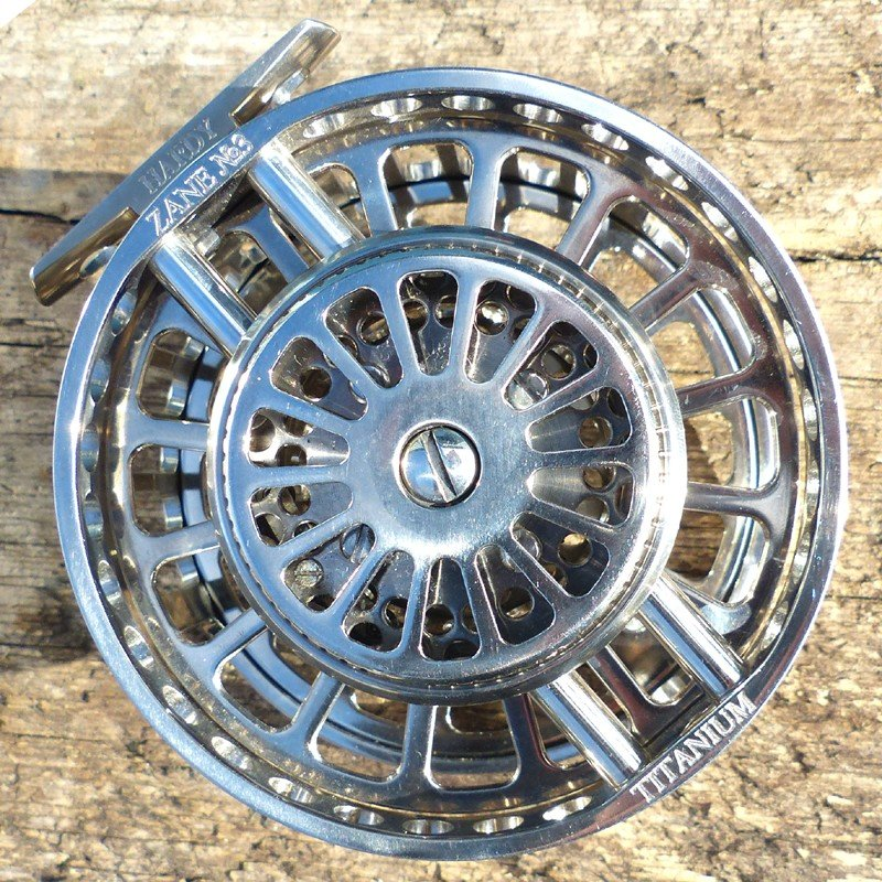 Hardy Zane Ti Saltwater Fly Reel - LIMITED EDITION image 4