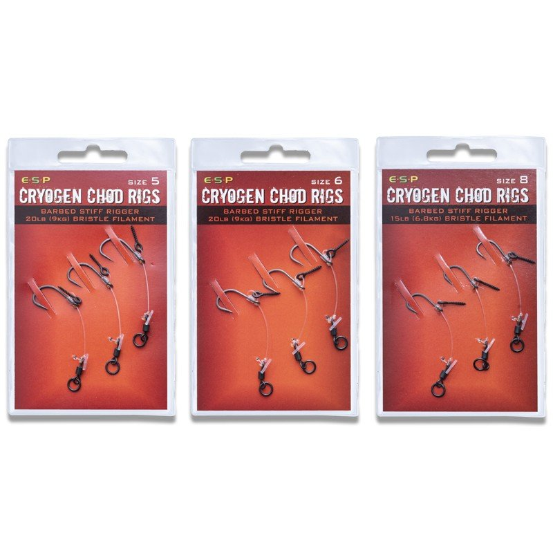 Cryogen Barbed Chod Rigs  image 1