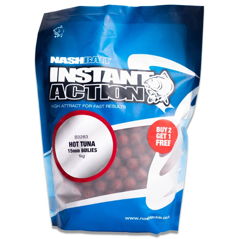 Instant Action Hot Tuna Boilies