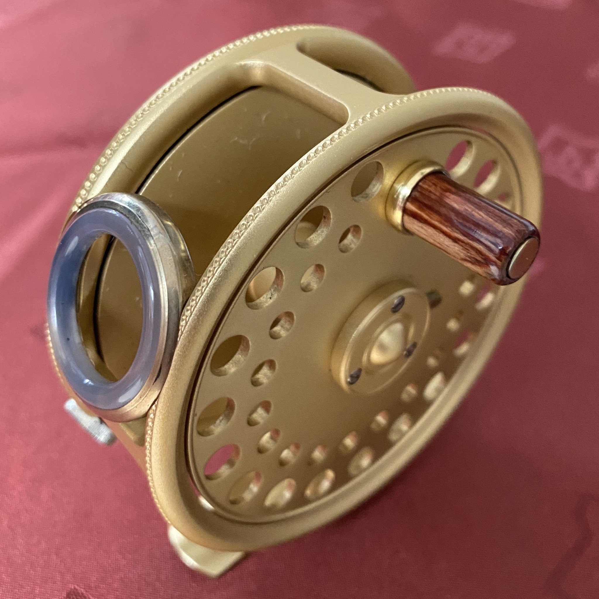 St. George The Royal Wedding Commemorative 3 inch Fly Reel MADE IN ENGLAND - LIMITED EDITION image 2