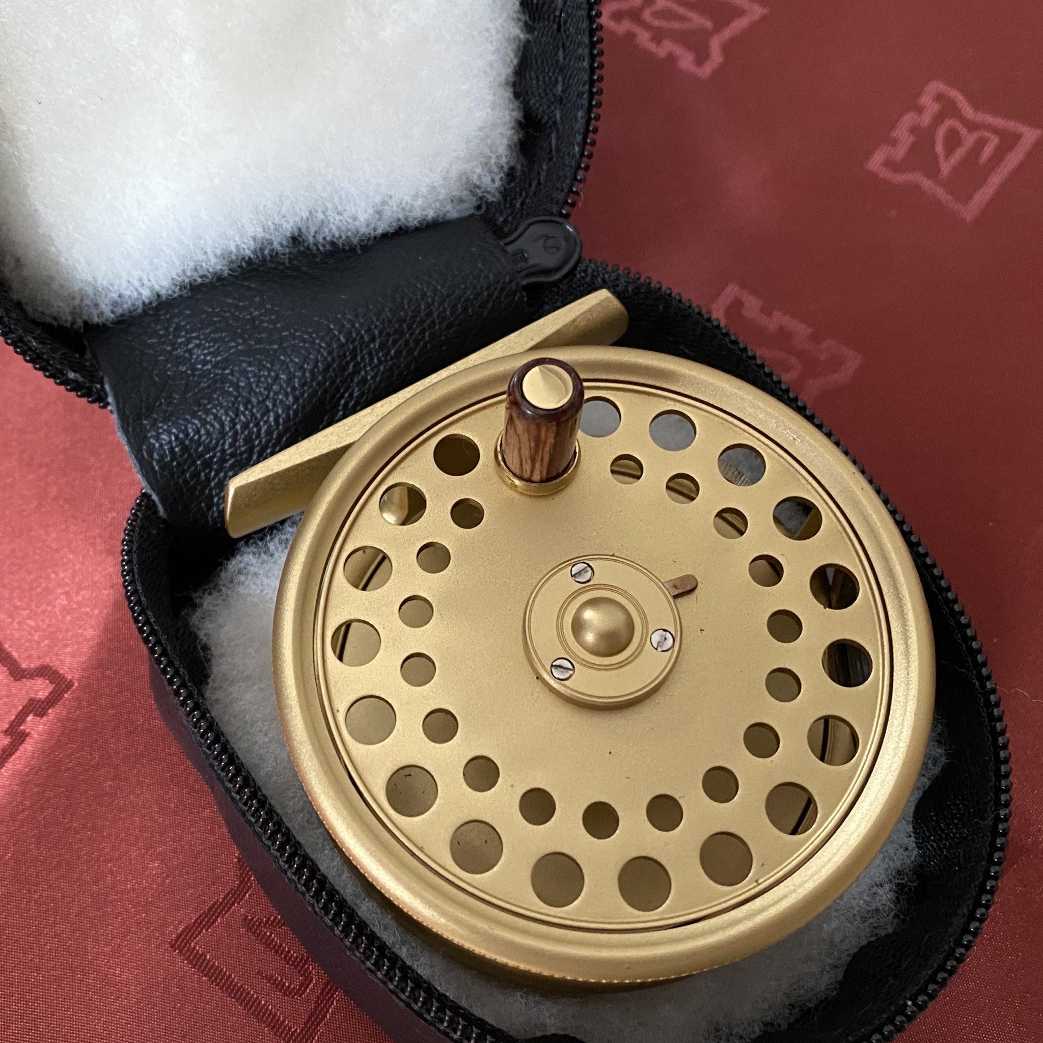 St. George The Royal Wedding Commemorative 3 inch Fly Reel MADE IN ENGLAND - LIMITED EDITION image 5