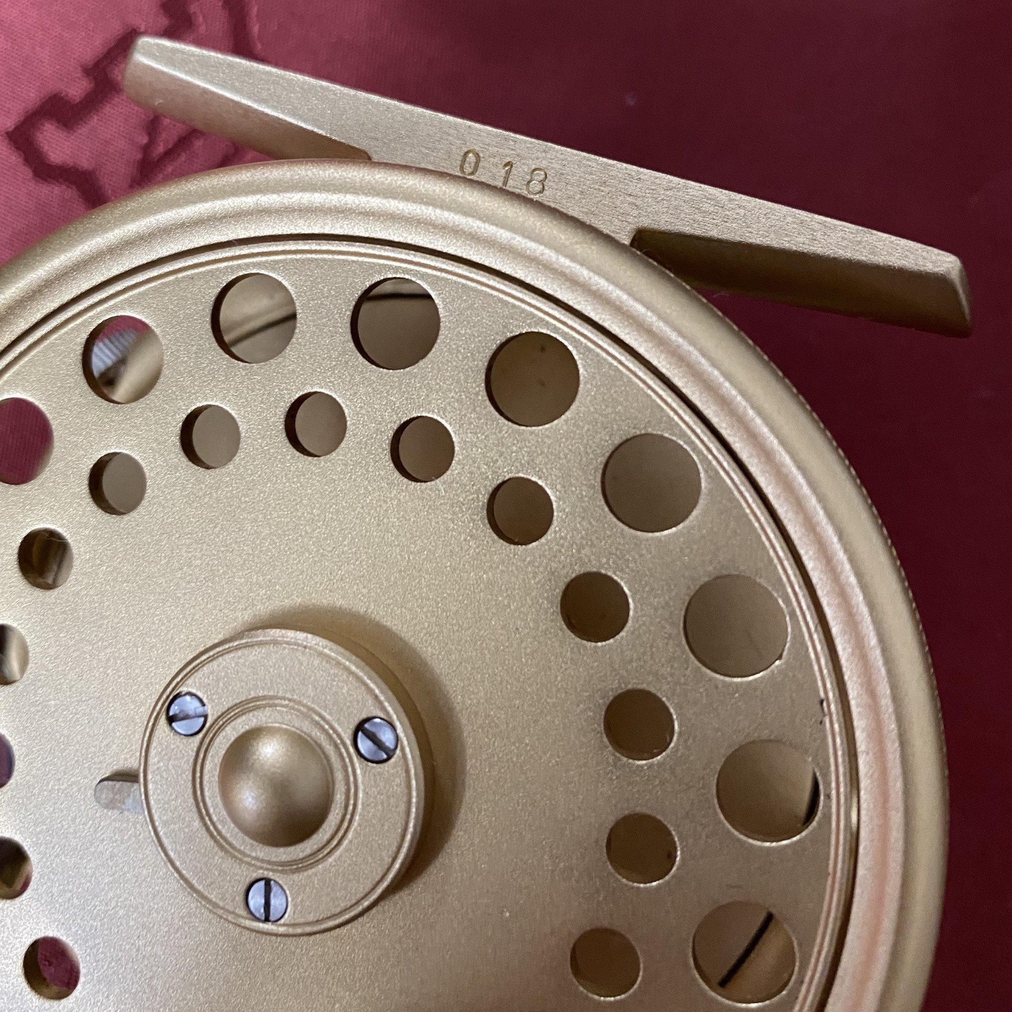 St. George The Royal Wedding Commemorative 3 inch Fly Reel MADE IN ENGLAND - LIMITED EDITION image 11