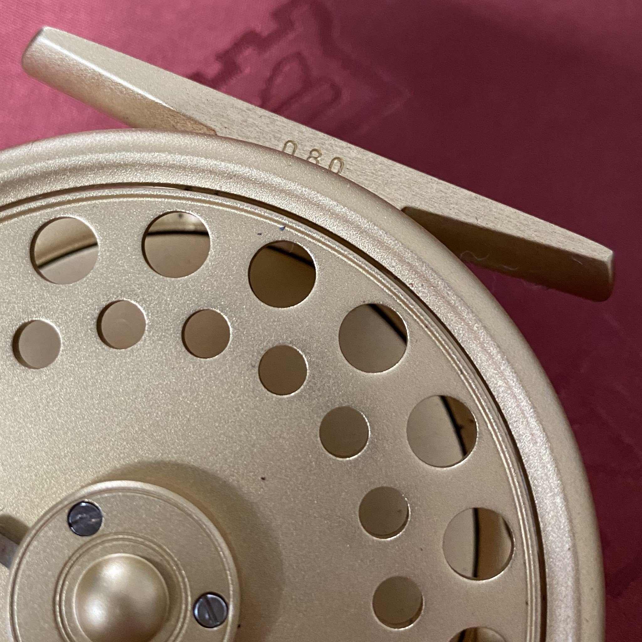 St. George The Royal Wedding Commemorative 3 inch Fly Reel MADE IN ENGLAND - LIMITED EDITION image 13