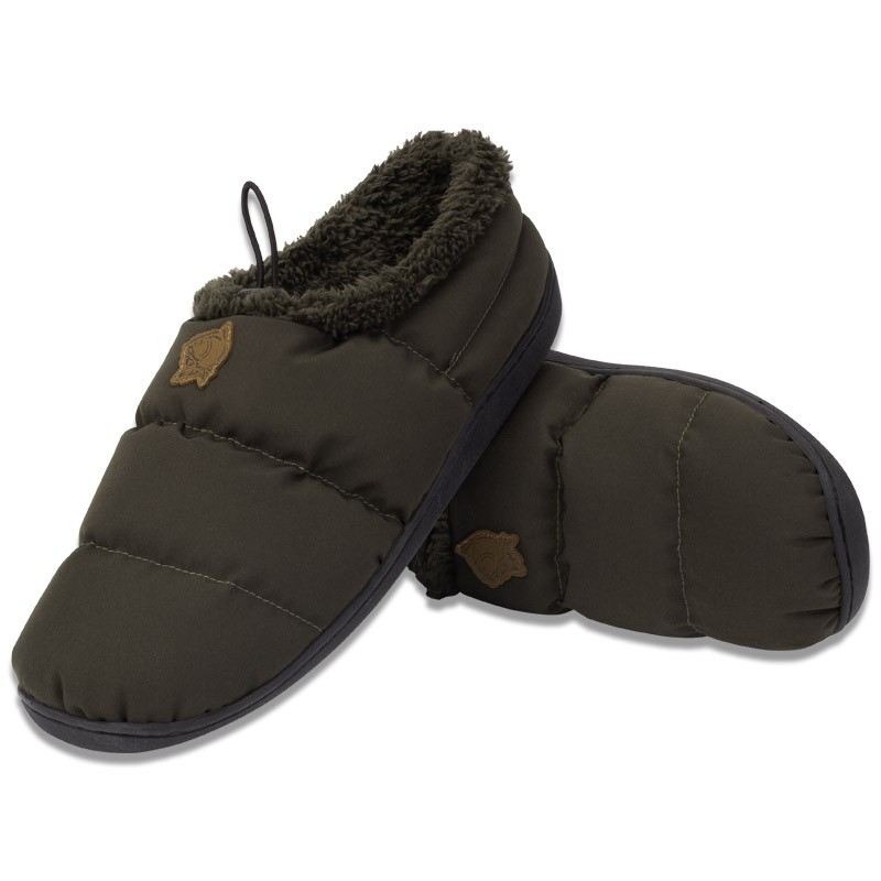 Deluxe Bivvy Slippers Green