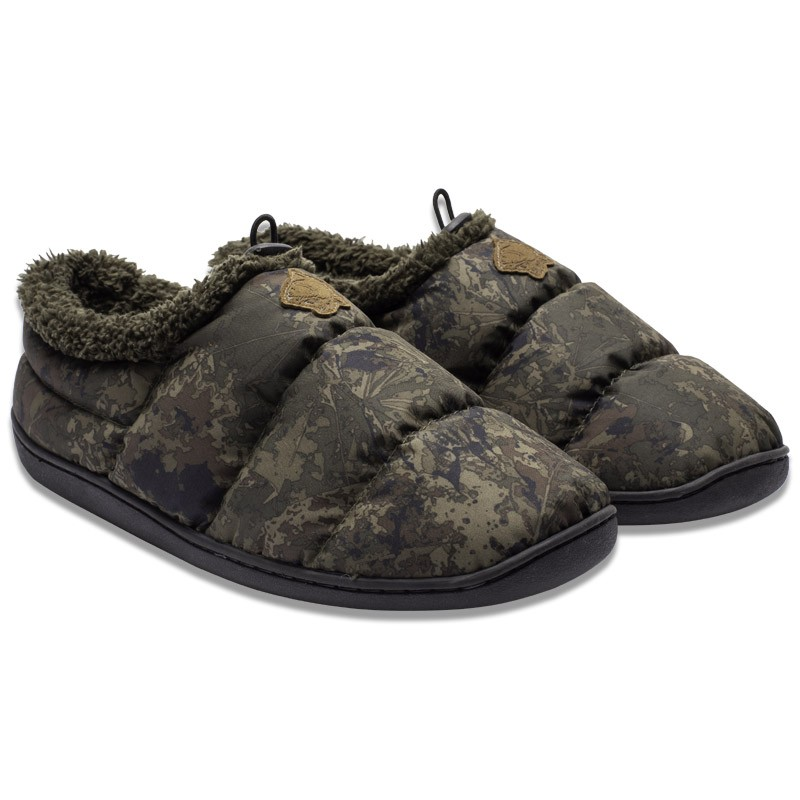 Deluxe Bivvy Slippers Camo