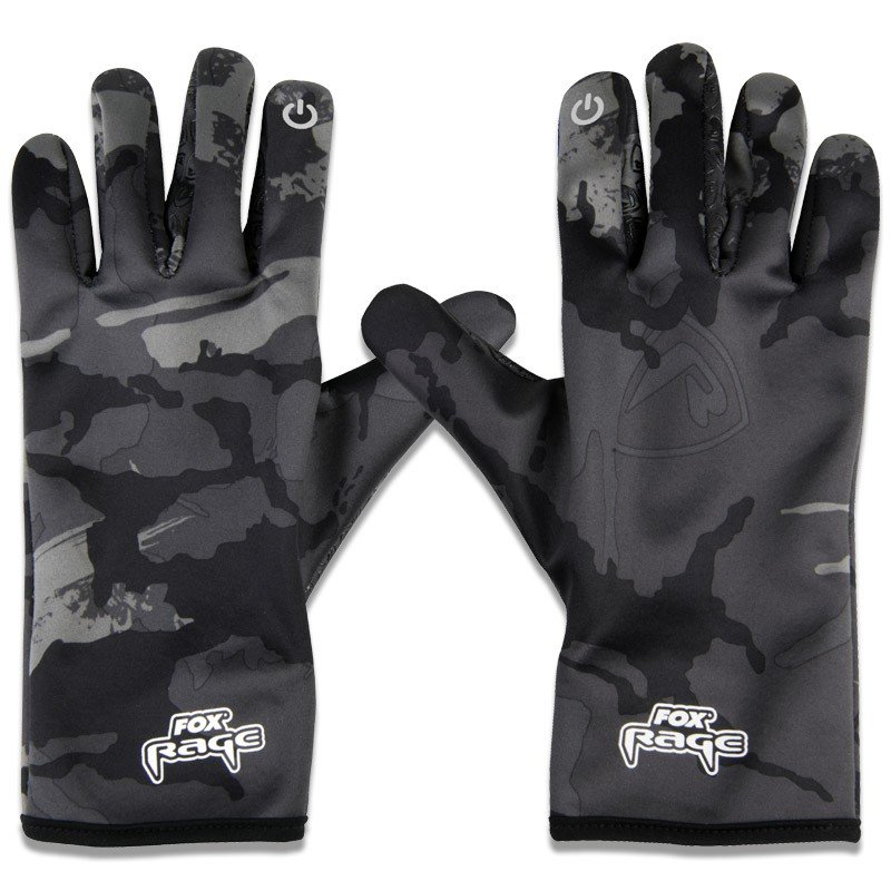 Thermal Camo Gloves